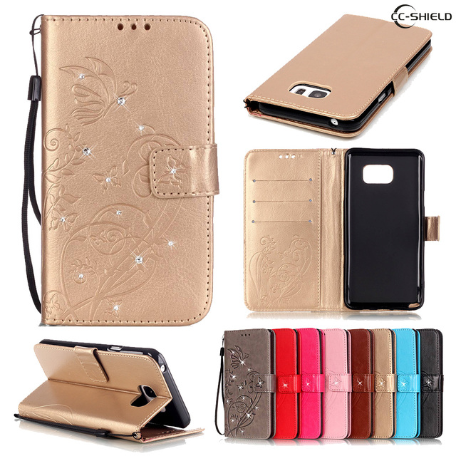Flip Case for Samsung Galaxy Note 5 Note5 N920 SM-N920 N9200 SM-N9200 N920v SM-N920v N920i SM-N920i Leather Diamond Phone Case