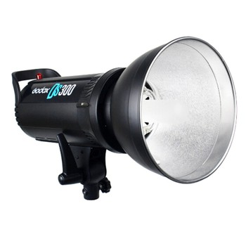 Godox DS300 300Ws Compact Studio Flash Light Strobe Lighting Lamp Head 300w for Children Model Wedding Photography image