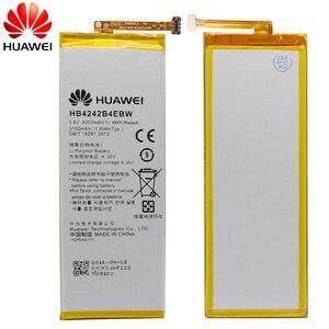 Image 2 - Batterie de téléphone dorigine Hua Wei HB4242B4EBW pour Huawei Honor 6/Honor 4X/Honor 7i/Shot X ShotX batterie 3000 mAh