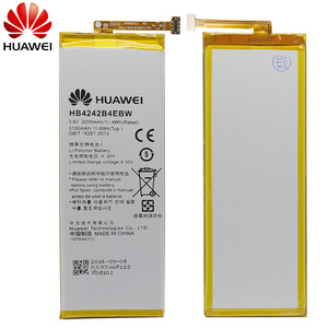 Image 2 - Оригинальный аккумулятор для телефона Hua Wei HB4242B4EBW для Huawei Honor 6/Honor 4X/Honor 7i/Shot X ShotX 3000 мАч