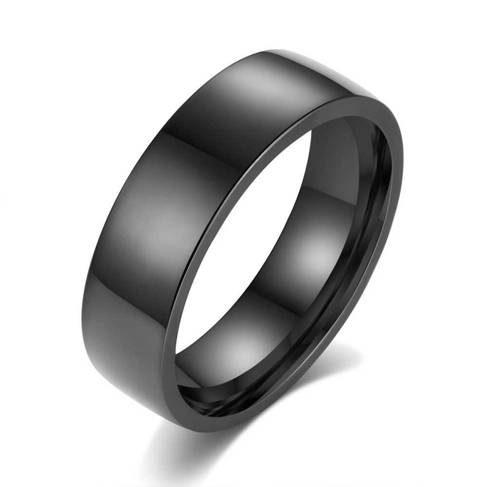 แฟชั่นเครื่องประดับ silver แหวน 925 แหวนสีดำ Vintage เครื่องประดับแหวนแต่งงานแฟชั่น