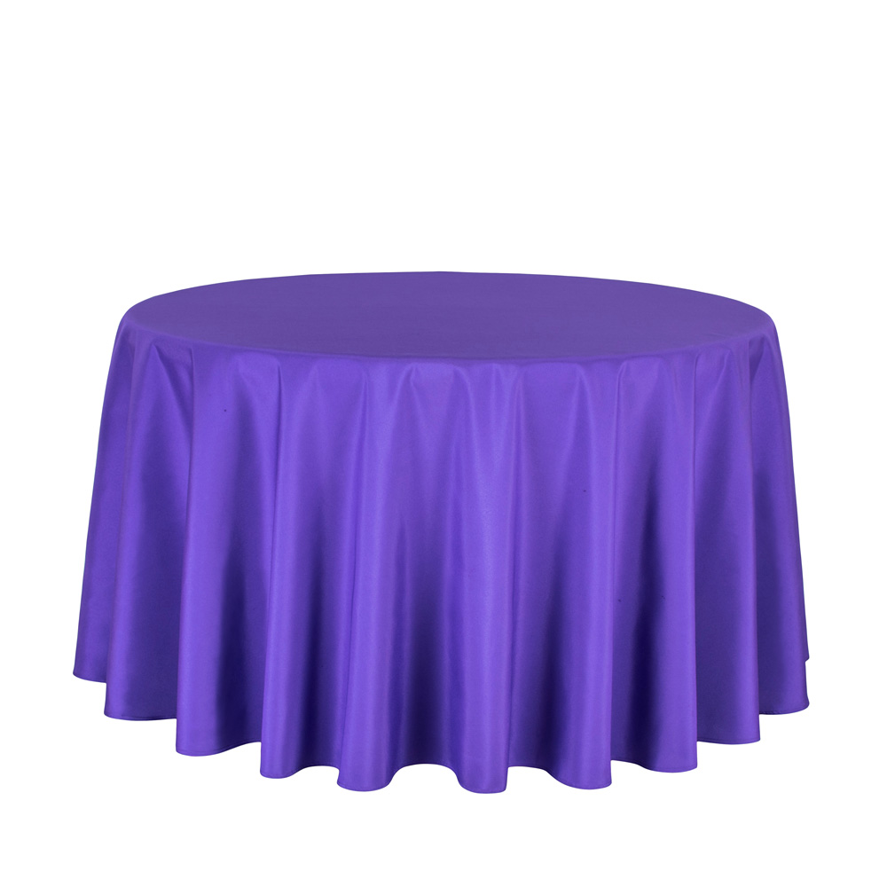 aliexpresscom buy 10pcslot wholesale polyester round tablecloth for wedding hotel decor white table cloth square table linen dining table cover from - Violet Hotel Decor