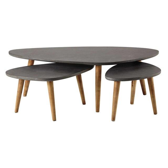 Aliexpress.com : Loft Stil Möbel Moderne Holz Tisch Wohnzimmer ...