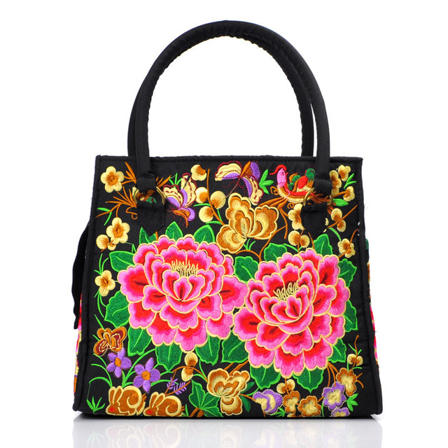 Free Shipping Yunnan Ethnic Embroidery Bag Wholesale Ethnic Hand