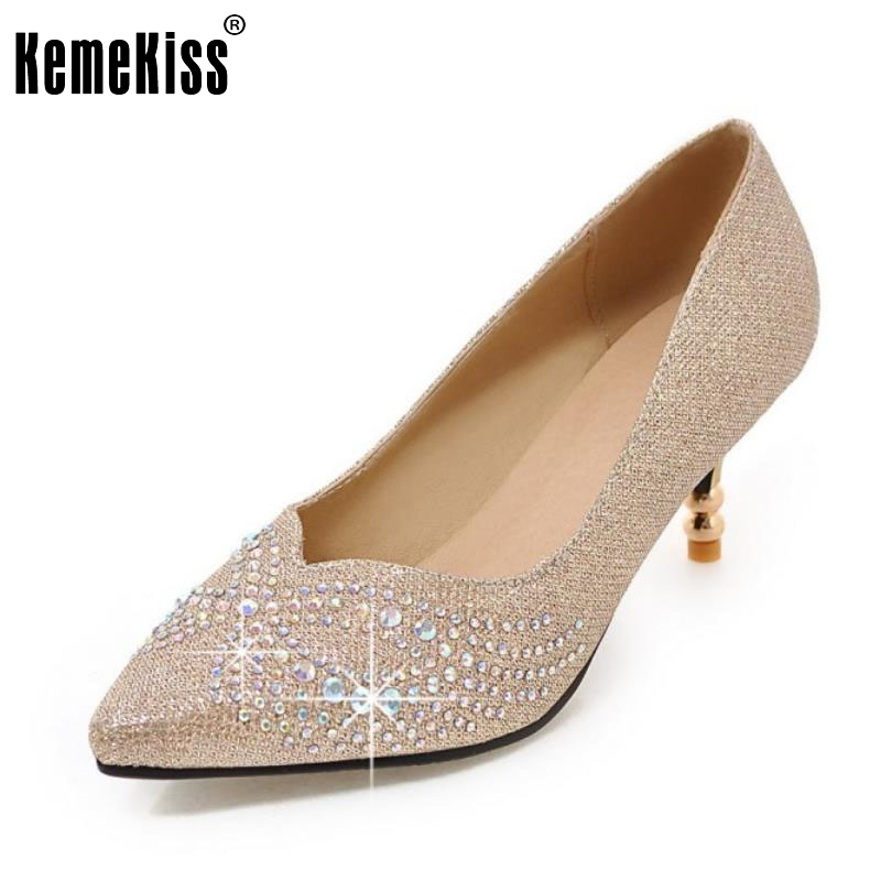 Women's High Heels Pumps Sexy Bride Party Wedding Shoes Woman fashion Thin Heel Pointed Toe Dress shoes footwear size 34-45 кофеварка эспрессо vitek vt 1511