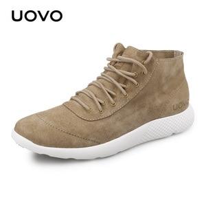 Image 1 - Men Shoes Casual Shoes New Design Water Repellent Genuine Leather Shoes Lightweight Durable Rubber Sole Shoes Men Eur #40 44