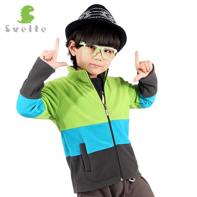 Svelte Brand Spring Autumn Spring Children Boys Girls Patchwork Fur Turtleneck Fleece Coat Kids Clothes Set Jersey Garcons Veste цена 2017