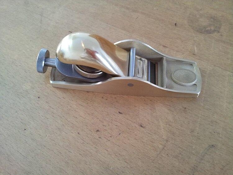 Металлический Карпентер, европейский стиль 20 градусов медный короткий строгальный станок (#4 медный короткий строгальный станок)