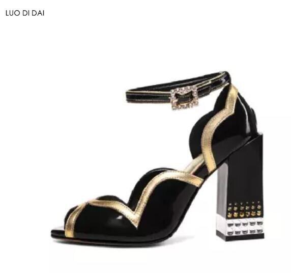63c53d51ed8e45 as Spartiates Soirée Cuir As Pic Chaussures Diamant Mariage En Sandales  Peep D'été De Pic ...