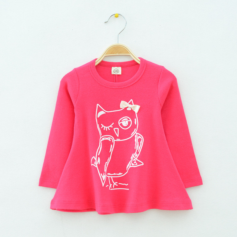 T-Shirt Baby Clothing Tops Autumn Long-Sleeved Children's New And Casual Spring Grils