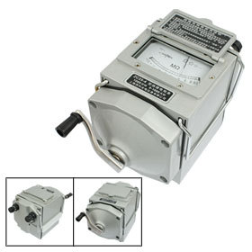 Insulation Megohm Tester Resistance Meter Megger Megohmmeter ZC25-4