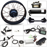 LOVAGE Fat BIKE 36V 350W Motor Wheel Electric Bicycle Kit Bicycle Conversion Kit 20 Rear Wheel Motor Brushless Gear Hub