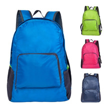 9a2e4d7eb4 Waterproof Gym Cycling Bag Women Foldable Backpack Nylon Outdoor Sport  Luggage Bag for Fitness Climbing Foldable
