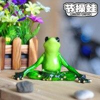 Animais De Jardim Frog Flatback Cute Resin Crafts Cartoon Ornament For Home Decoration Brinquedo Animais De