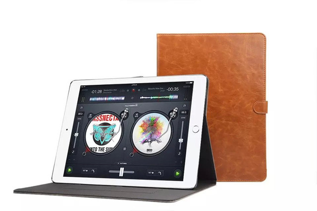 Fashion tablet leather cover for apple ipad pro case 12.9 inch