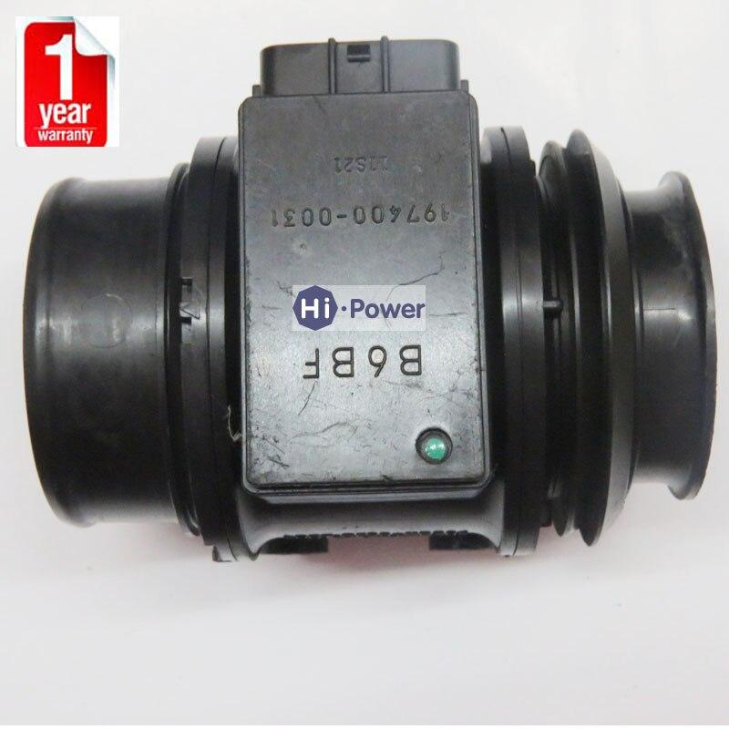 Mass Air Flow Sensor MAF OEM 197400 0031 B6BF 13 215 for Mazda MPV323 B6BF13215