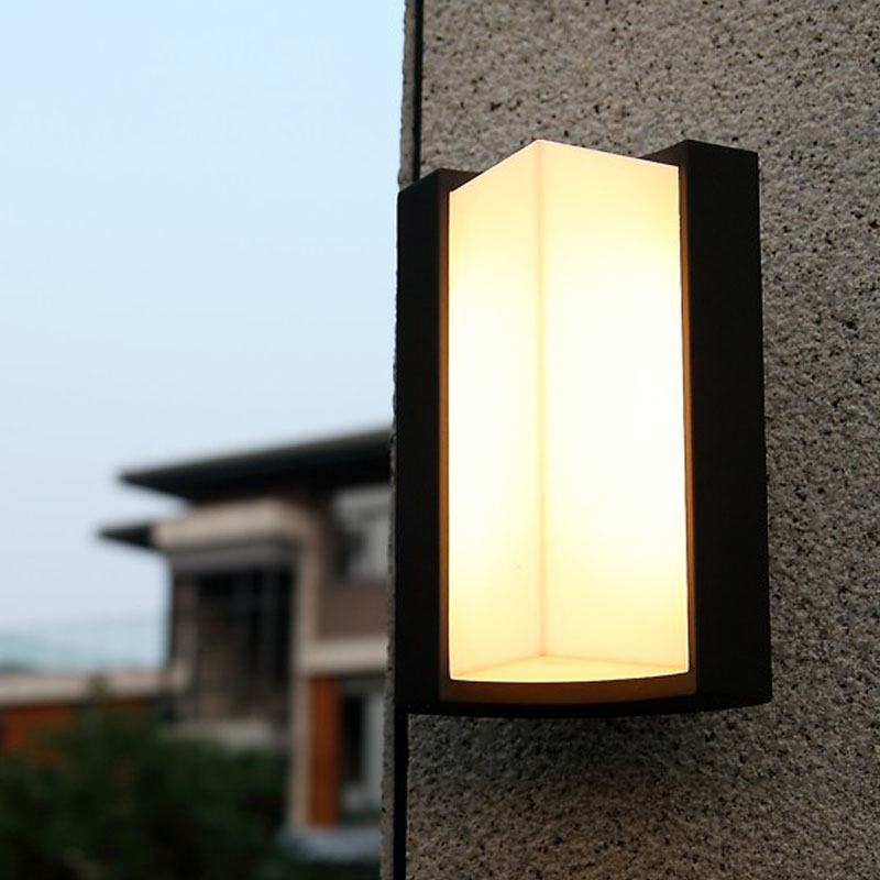 Garden lamp 220v led outdoor modern lights up down outdoor wall light led outdoor house wall - Exterior led lights for homes ...