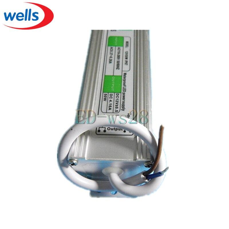 DC napajanje 12V 50W vodootporan elektronski LED pokretački - Različiti rasvjetni pribor - Foto 2