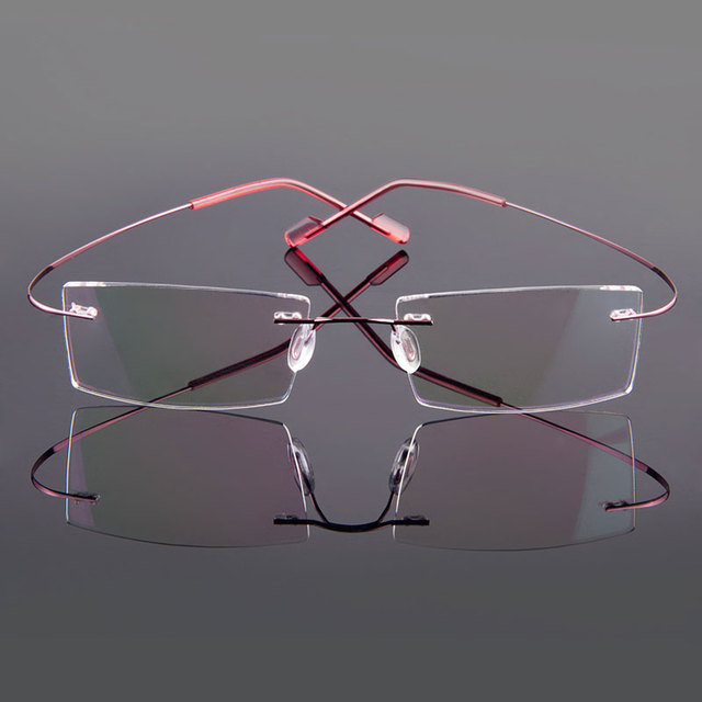 Gmei Optical Rimless Glasses  3