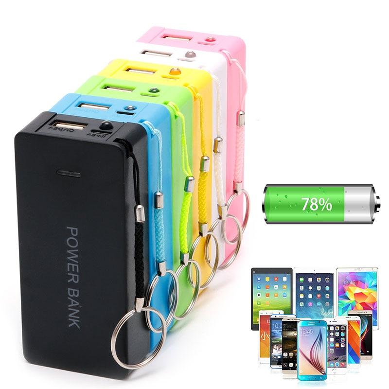 Zubehör Und Ersatzteile 5 V 1a 2x18650 Batterie Power Bank Fall Mit Led Diy Box Ladegerät Für Zelle Phone-m56 Unterhaltungselektronik