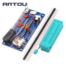 Hot Sale DIY Kit ATmega8 ATmega48 AVR Minimum System Development Board Miniature Mini Elect