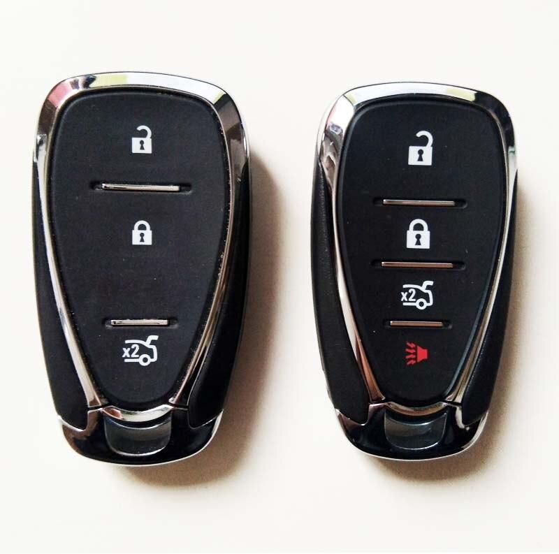 Keyless Entry Smart Remote Control Key Shell Case For Chevrolet Cruze Malibu Car Alarm Housing Fob