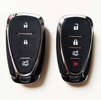 Keyless Entry Smart Remote Control Key Shell Case For Chevrolet Cruze Malibu Car Alarm Housing Fob Key Cover|car key shell case|case key chevrolet|chevrolet keyless -