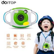 DOITOP Kids Digital Camera 5MP HD Mini Cute Baby Children Neck Camera Camcorders Photography Video Recording Kids Cam Toys C4