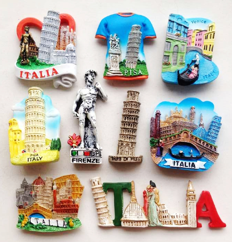 High Quality Handmade Italy Leaning Tower Of Pisa 3d