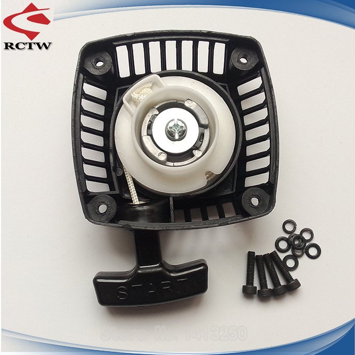 New arrival!!!Pull Starter (Metal claw centered) for 23cc 26cc 29cc 30.5cc engine zenoah CY for 1 5 hpi baja 5b rovan TS-H1611-2 baja rc reed valve system for cy zenoah engine