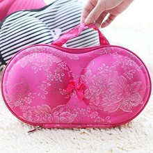 Women Portable Underwear Lingerie Protect storage box covered bra finishing box panties socks holder travel bag storage case