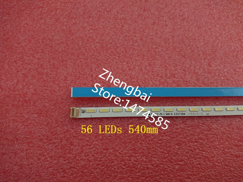 New 2 Piece LED Strip STQ420A85-56LED-REV02-131210 56 LEDs 540mm For 42L1353C 42L1356C 017-420-0006-1