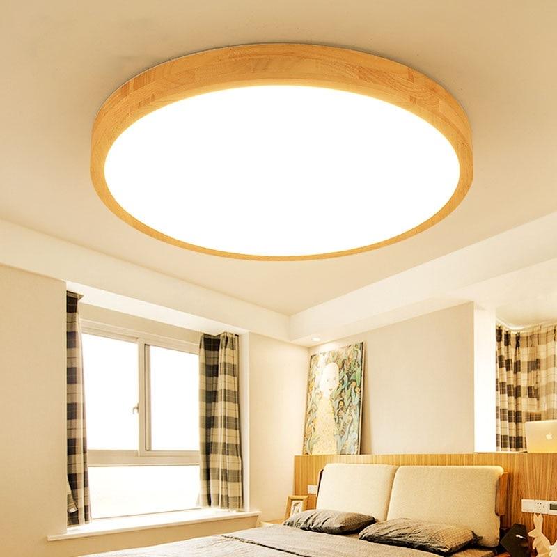 Us 46 8 28 Off Bulat D30 40 50 60 Cm Lampu Led Plafon Ruang Tamu R Tidur Belajar Makan Langit Bisnis Kantor Pencahayaan In