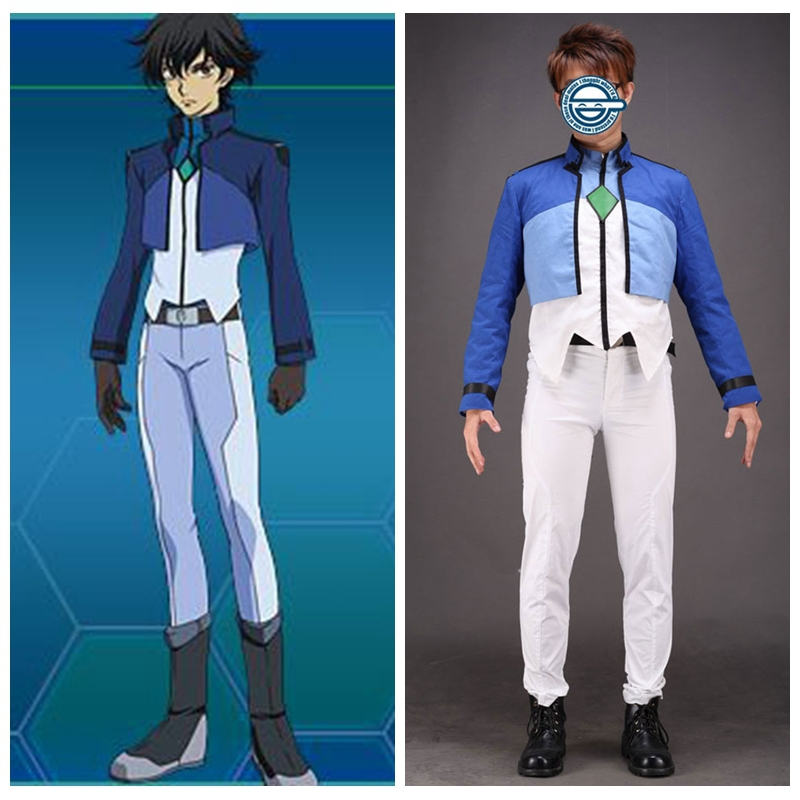 Mobile Suit Gundam 00 Anime Setsuna F Seiei Kostum Cosplay Suit Sneakers Costume Chaincostumes Victorian Aliexpress
