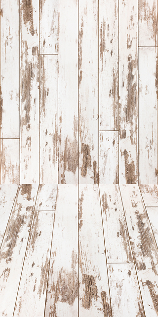 Vintage Wood Photography Backdrop Distressed White Planks Floordrop Digital Printed Vinyl Studio Photo Background Xt