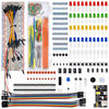 WeiKedz Electronic Components Kit MB 102 Breadboard 65 Jumper Wire Power Supply Module Ect For Ar