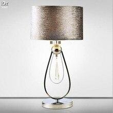 Bedroom modern creative bedside Deco hotel luxury K9 crystal floor lamp Table light wwy-0024
