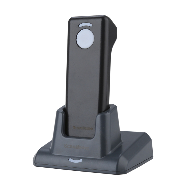 ScanHome SH-4000 Wireless 433 2D/1D/QR Barcode Scanner Mini Handheld Bar Code Reader With Charging With Receiver Base