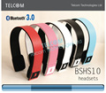 Wireless Bluetooth stereo headset headphone with mic for cellphone ,PC ,MP3 MP4, Bluetooth headset speaker