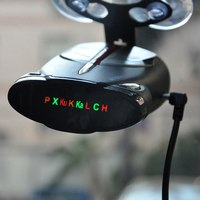 Auto Car Radar Detector 360 Degree 16 band Cobra Xrs 9880 Support English And Russian Laser Car Anti radar Detectors