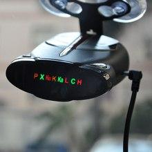 Detector de Radar para Auto coche 360 grados 16 bandas Cobra Xrs 9880 compatible con láser inglés y ruso coche Anti- detectores de radar