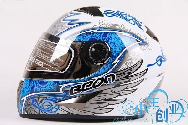 Freeshipping BCM001# BEON B-500 Classic Full Face Helmet Winter Helmet Racing Helmet International Version Motorcycle HelmetsN9