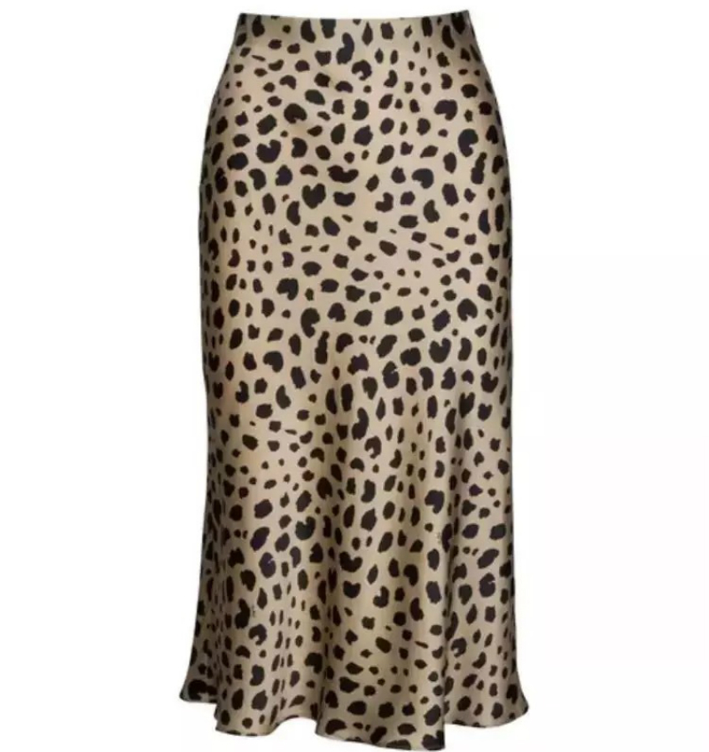 Skirt Women Leopard Print Sexy New Hot European Small Red American-Style