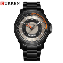 NEW CURREN watches men Top Brand fashion watch quartz Business watch male relogio masculino men Army sports Analog Casual date