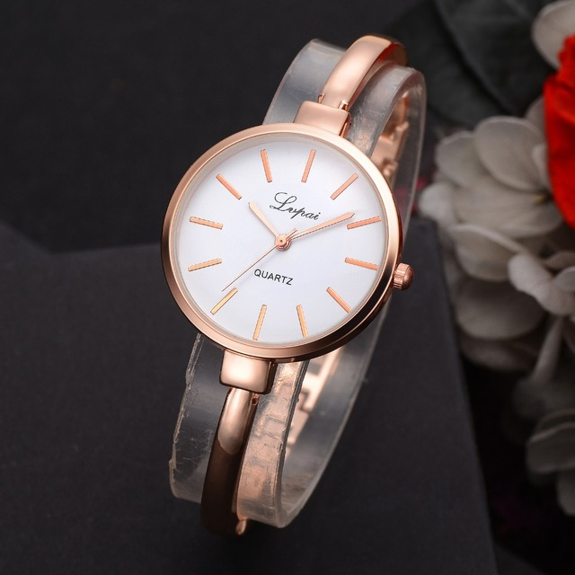 Rose Gold  Luxury Quartz Watches