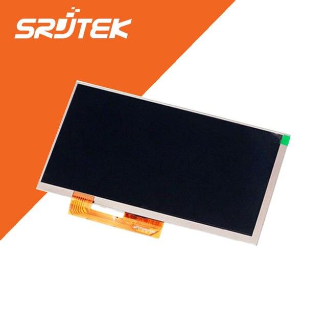 Nova 7 ''polegadas display lcd matriz para prestigio multipad pmt3038 3g tablet interno tela de lcd substituição do módulo do painel frete grátis