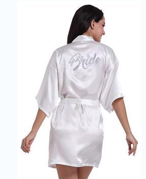 303caa2f6a De dama de honor trajes ropa de dormir traje de novia de la boda de dama de  honor trajes de pijama de traje de mujer Pijamas Albornoz camisón