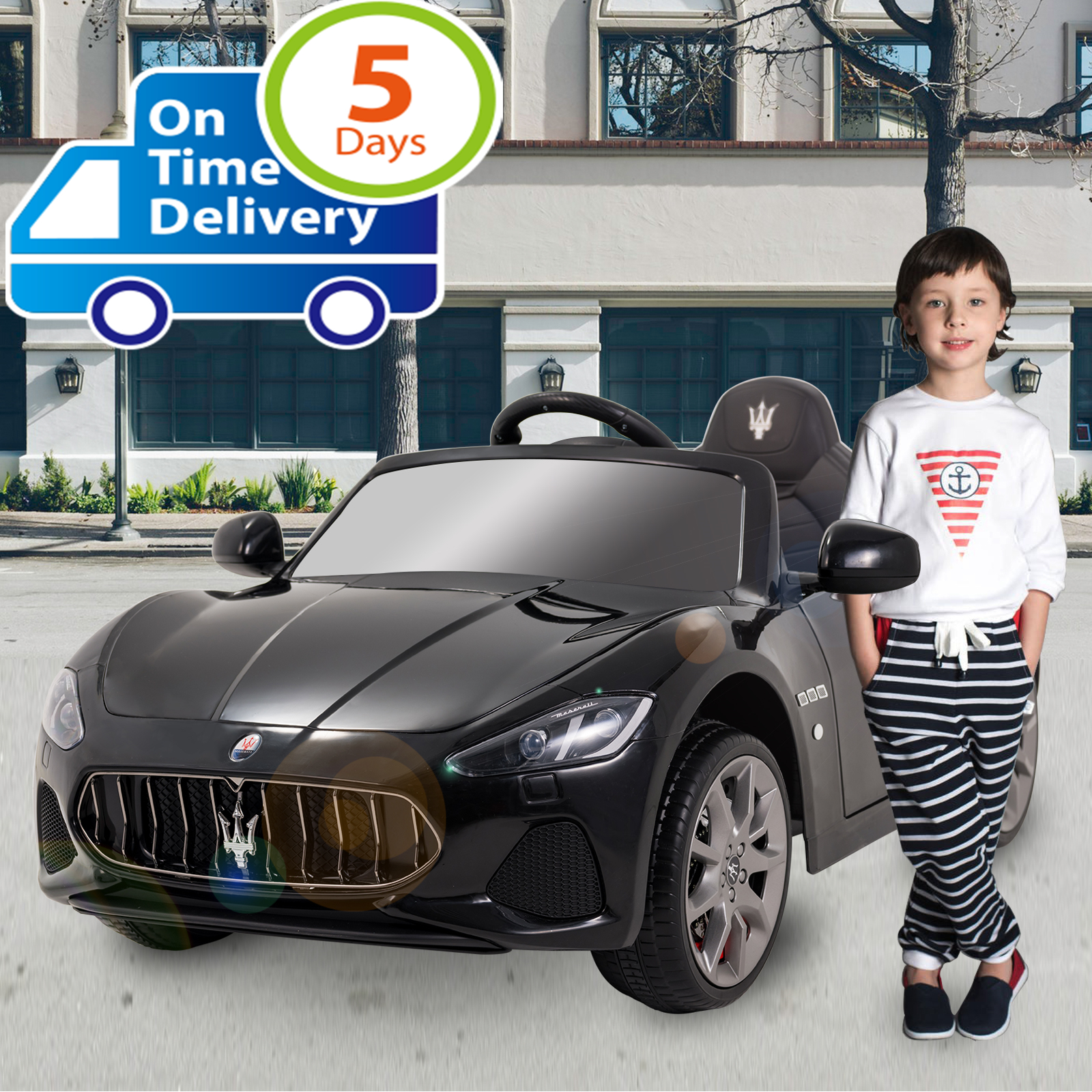 US $179 99 10% OFF|Uenjoy 12V Electric Kids Ride On Cars Motorized Vehicles  W/Remote Control, Suspension with Mp3 Player, Light-in Ride On Cars from