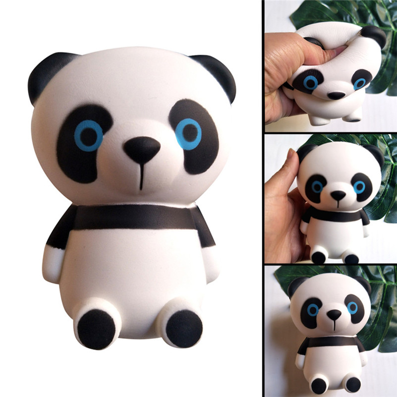 Squishies Jumbo Cute Panda Slow Rising Kids Toys Doll Gift Fun Stress Relief Toy Anti-stress D4