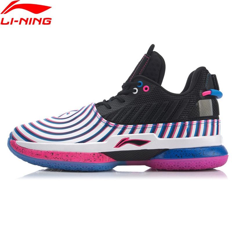 Li-Ning Men WOW 7 DIZZY Basketball Shoes Wow7 Wayofwade 7 CUSHION LiNing CLOUD BOUNSE+ Sport Shoes Sneakers ABAN079 XYL212